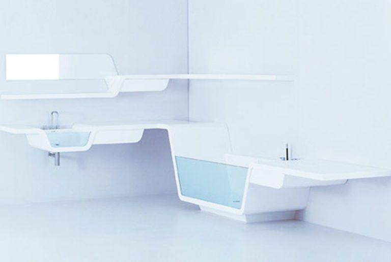 bagno futuristico